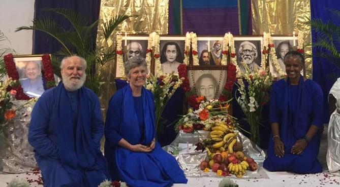 Nayaswami Haridas, Nayaswami Roma and Nayaswami Dhyana