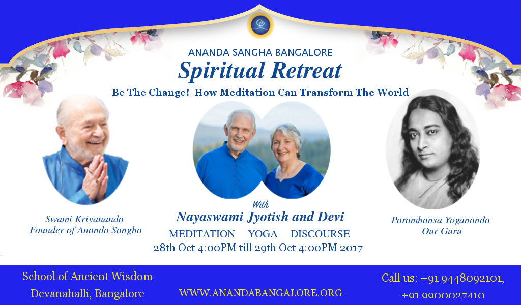 Annual Spiritual Retreat with Nayaswamis Jyotish and Devi